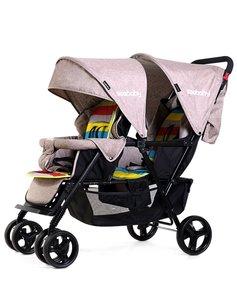 Image 1 - 2019 nouveau purle couleur bébé poussette confortable simple jumeaux landau