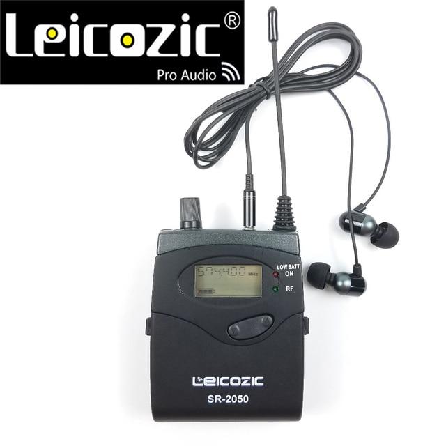 Odbiornik Leicozic do systemów monitorów dousznych bk2050 SR 2050 sr2050 monitorowanie systemów bezprzewodowych iem do scenicznego instrumentu muzycznego