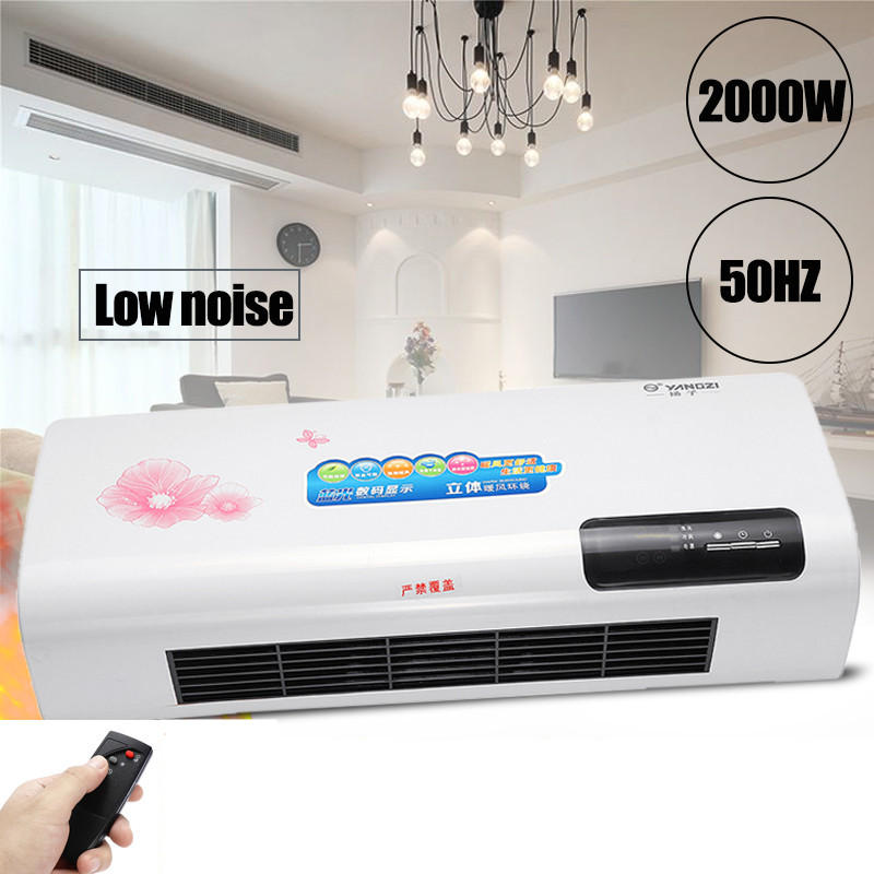 Wall-mounted Air Conditioner Electric Cooling Machine 220V 2000W Cooler Heater Warmer Heating Conditioner