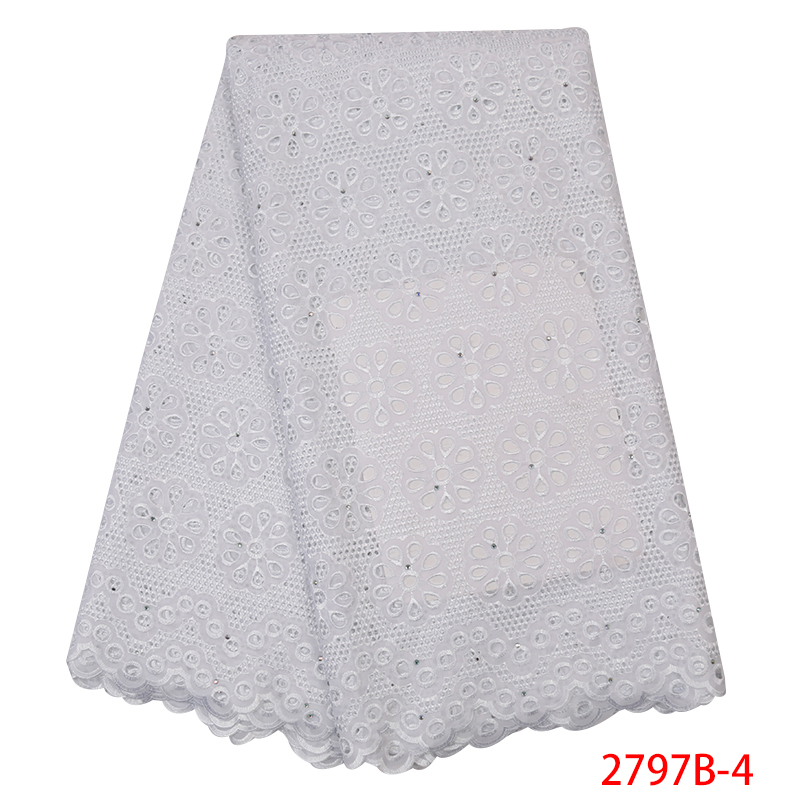 White African Lace Fabric Hot Sale Mesh 2019  High Quality Nigerian Guipure And Cord Lace Fabrics Hollow Cut KS2797B-4