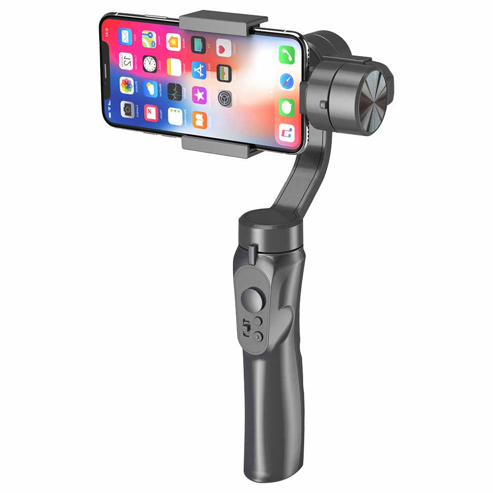 Huanxin 3-Axis Gimbal Stabilizer for 3.5-6.1 Inch Mobile Phone with Sport Inception Mode Face Object Tracking Motion Time-Lapse with Bluetooth