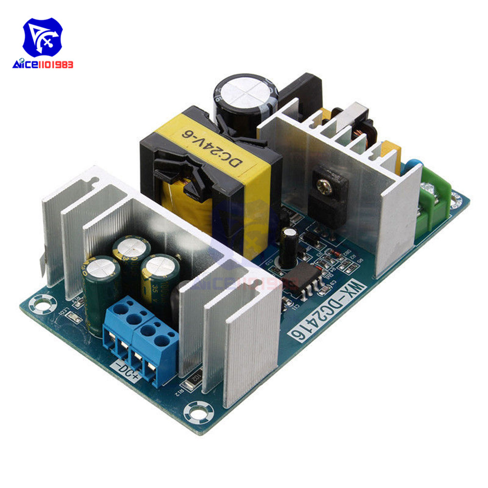AC-DC AC DC Power Module Transformer 4A To 6A DC 24V Max 9A 150W Stable High Power Switching Power Supply Adapter Board