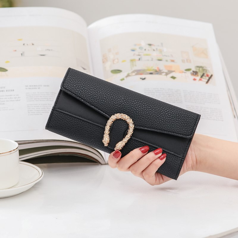 2020 Women's Wallet Long Purse Ladies New Fashion High Quality Wallets Girls Key Card Holder Classic Coin Pocket