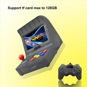 Image 5 - חדש רטרו ארקייד HDMI וידאו משחקי קונסולה ניידת HD טלוויזיה רטרו משחק מיני כף יד משפחת ג ויסטיק מובנה 3000 משחקי משלוח מתנה