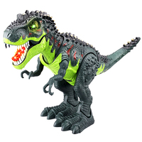 Sun Cling Electronic Toys Green Walking Tyrannosaurus Rex Dinosaur Jurassic Park walking Dinosaur Toys
