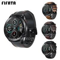 FIFATA Leder Handgelenk Band Für Huawei Ehre Magie Uhr 2 46mm 42mm GS Pro Uhr Armband Armband Für samsung Galaxy Uhr 3 GearS3