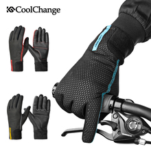 CoolChange Cycling Gloves Winter Thermal Waterproof Bicycle Gloves Full Finger Anti-slip Touch Screen Sport MTB Road Bike Gloves coolchange cycling gloves winter thermal waterproof bicycle gloves full finger anti slip touch screen sport mtb road bike gloves
