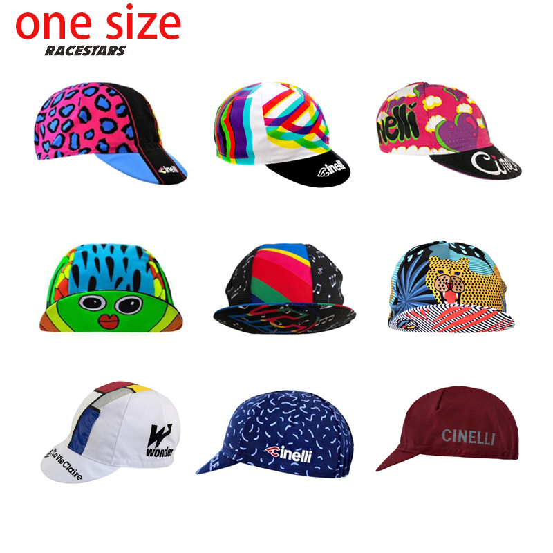 NEW CINELLI/LA VIE CLAIRE Cycling Caps Men And Women Cycling Headdress One Size Breathable 9 Style Bike Wear Hats Cycling Hats