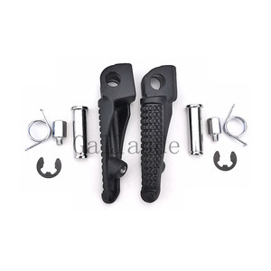 Image 5 - Motorcycle Front Rear Footrest Foot Pegs Set For Kawasaki ZX6R ZX 6R ZX636 2005 2006 2007 2008 2009 2010 2011 2012 2013 2014