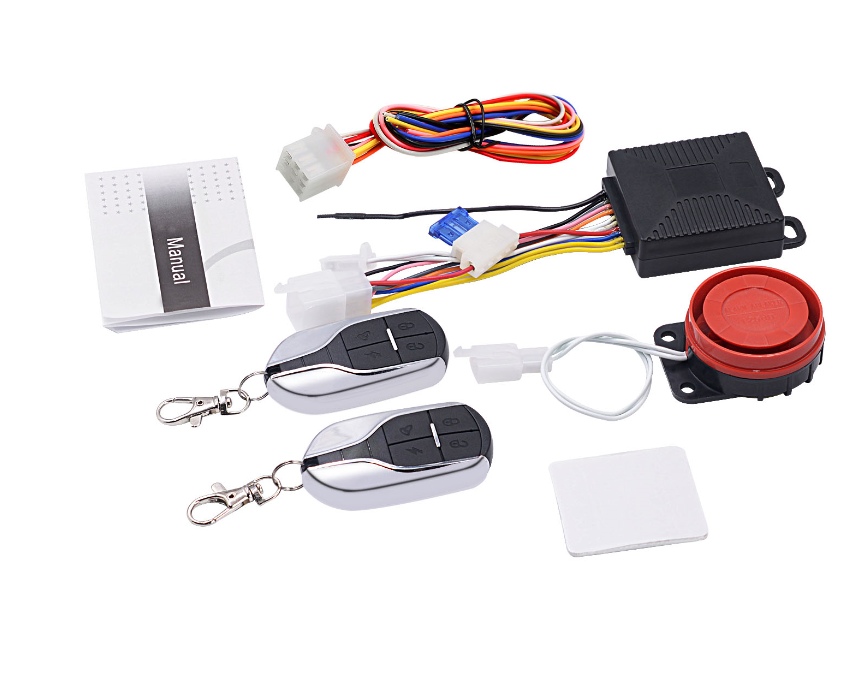 Universal Anti-hijacking Waterproof Motorcycle Security Alarm/one Way Motorcycle Alarm System 12V  System Alarm