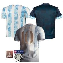 MESSI Top Quality 2021 22 Shirt KUN AGUERO LO CELSO DYBALA L. MARTINEZ MARADONA DI MARIA OCAMPOS OTAMENDI new ArgentinaES Shirt