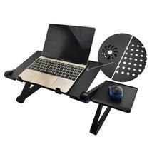 Регулируемый алюминиевый стол для ноутбука эргономичная Портативная