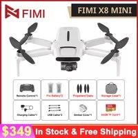 Original FIMI X8 Mini Kamera Drone 8KM 4K Professional Mini Drone Quadcopter 250g-class Drohnen GPS Fernbedienung Hubschrauber
