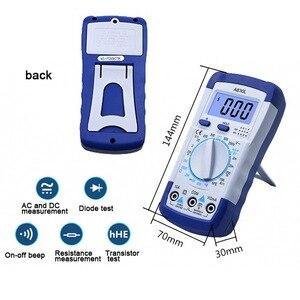Image 2 - A830L Mini Multimeter Lcd Digitale Multimetro Volt Amp Ohm Tester Meter Voltmeter Amperemeter Backlight Beschermen Met Probe