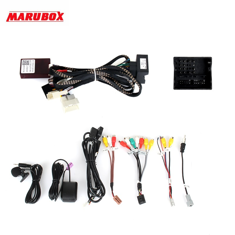 Image 5 - Marubox KD7237 DSP, 64 GB, Head Unit for Renault Megane 3, Car Multimedia Player, Android 9.0Car Multimedia Player   -