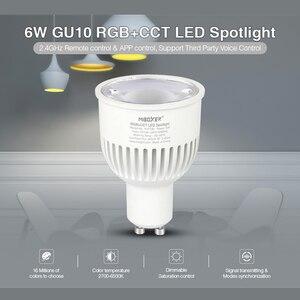 Miboxer FUT106 6W GU10 RGB+CCT