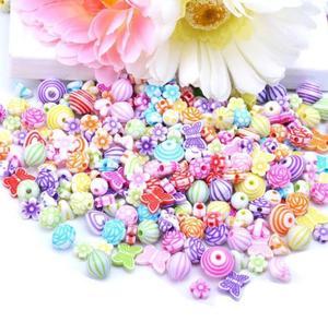 Image 5 - 500g مجوهرات قلادة سوار اليدوية سلسلة حبة DIY بها بنفسك فتاة الحلي لعبة تعليمية ألعاب أطفال