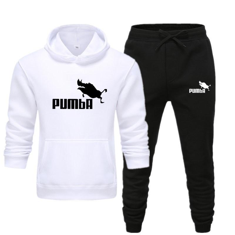 Men's Sets Hoodie And Pants Sweatsuit Male Sportswear Tracksuit Men Set 2020 Brand Sporting Suit Track Sweat Print Alpha Jackets
