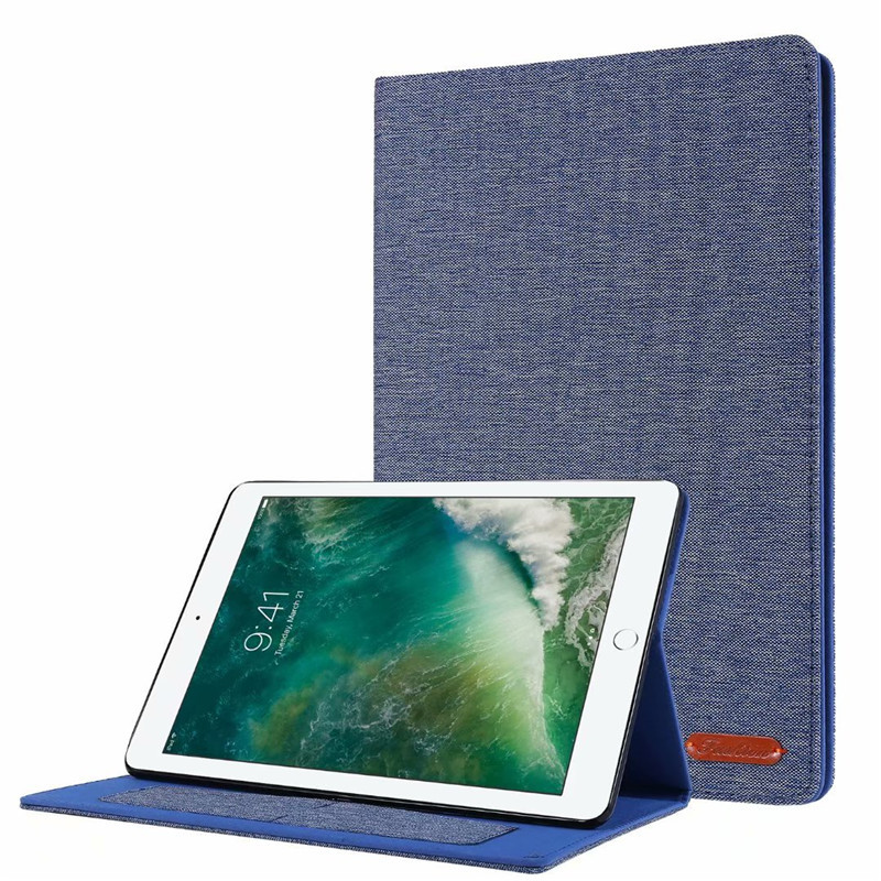 01 Light Blue Orange Cover For iPad 10 2 2019 Luxury Leather Case For iPad 10 2 7 7th Generation