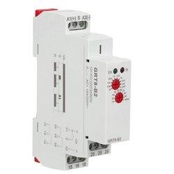AAAE Top GRT8 B2 Mini jednofunkcyjny przekaźnik czasowy opóźnienia wyłączenia zasilania na szynie Din AC230 50/60HZ w Adaptery AC/DC od Elektronika użytkowa na