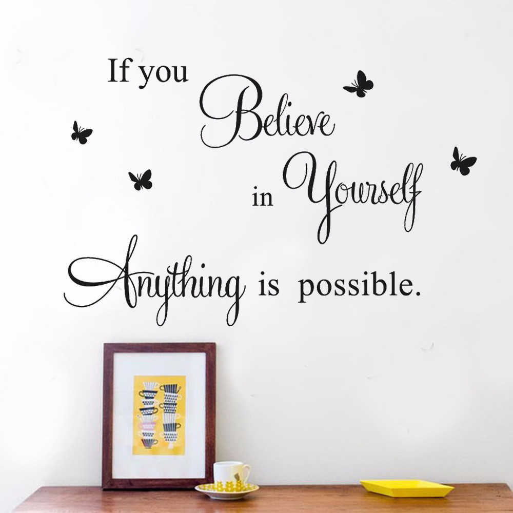 Homely Decor Having Somewhere To Go.. Wall Art Quote Wall Sticker PVC Decal