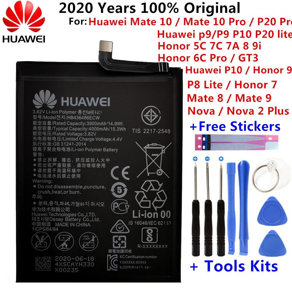 Купить аккумулятор для Huawei Honor 7 9 P9 P10 P8 Lite Mate 8 9 10 Pro P20 Pro Nova 2 Plus honor 8 5C 7C 7A на Алиэкспресс