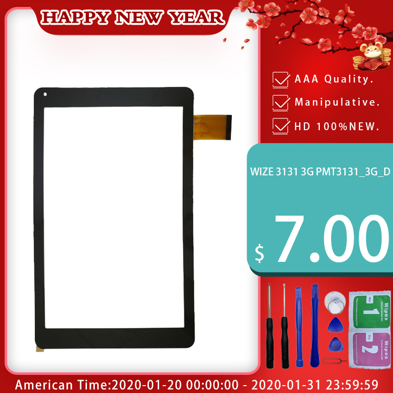 100% New For Prestigio Multipad Wize 3131 3G PMT3131_3G_D 10.1'' Inch Touch Panel Free Shipping