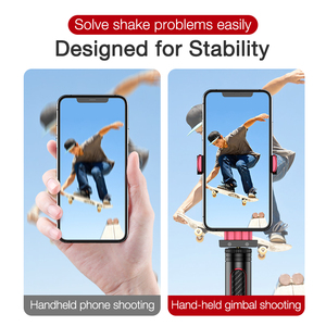 Image 4 - Cafele Foldable Bluetooth Wireless Selfie Stick Handheld 3 Axis Gimbal Camera Holder Stabilizer For Phone With Remote Control