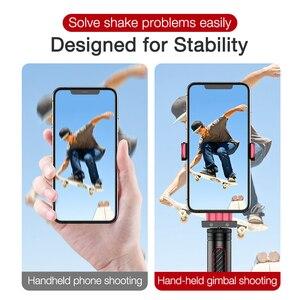 Image 4 - Cafeleบลูทูธไร้สายSelfie Stickมือถือ3แกนGimbalผู้ถือกล้องStabilizerสำหรับโทรศัพท์รีโมทคอนโทรล