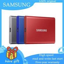 Samsung 1tb ssd nvme unidades de estado sólido externo 500gb 1tb 2tb tipo-c usb 3.2 gen2 ssd compatível para portátil