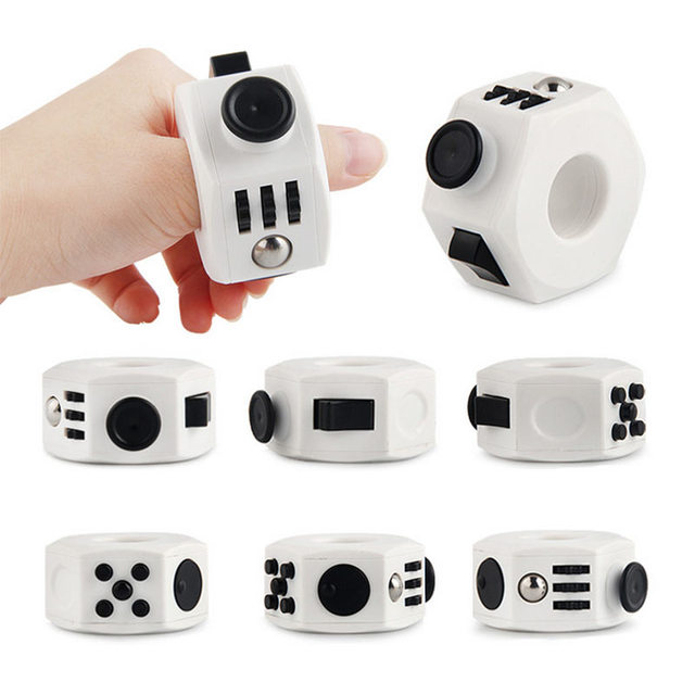 Anti Stress Cube Toy Decompression toy Press Magic Stress and Anxiety Relief Depression Anti Cube for Kids and Adults
