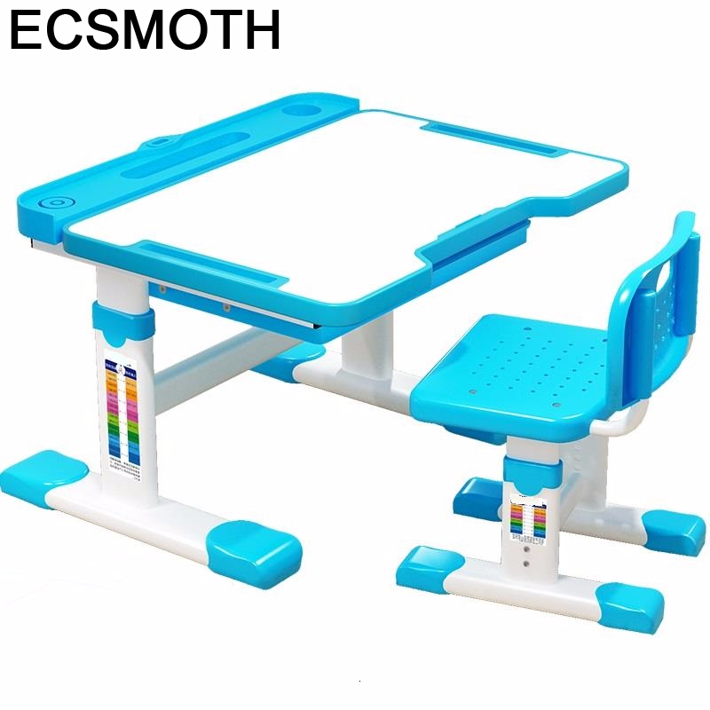 Per Bambini Baby Desk Silla Y Infantiles Mesa De Estudio Avec Chaise Pour Adjustable Bureau Enfant Kinder Study Table For Kids