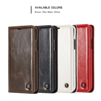 Luxury Kickstand Phone Cover Funda Leather Wallet Flip Case for iPhone X XR XS Max Case for iPhone 7 6s 6 8 Plus AIR