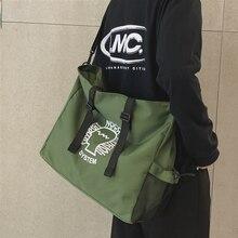 Canvas Bag Handbag Messenger-Bag Japanese-Fashion-Brand Backpack Multifunctional-Bag