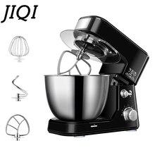 JIQI 4L чаша из нержавеющей стали, Электрический миксер для приготовления пищи, Миксер для крема, блендер для замеса теста, торта, хлеба, шеф-повара, машина для взбивания яиц, взбиватель, ЕС, США