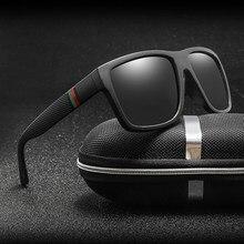 Polaroid óculos de sol unissex square vintage óculos de sol marca famosa óculos de sol polarizados oculos feminino para mulher