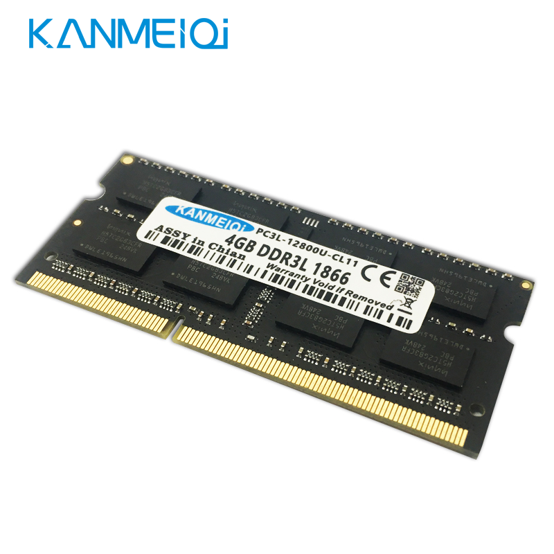 KANMEIQi DDR3 Laptop Memory With 2GB 4GB 8GB And 1333Mhz 1600MHZ 1866MHZ 1