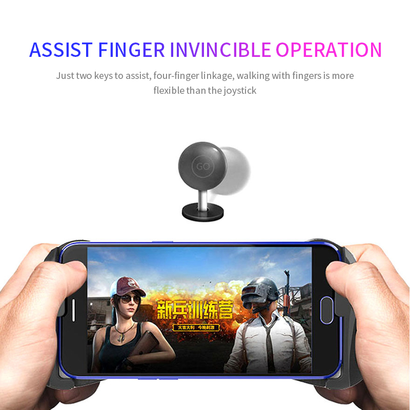 Bluetooth Gamepad Mobile Joypad Android Joystick Wireless PUBG Mobile Triggers Wireless Joypad for smart phone