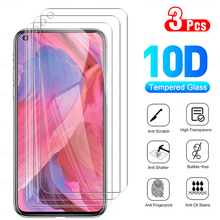 """3Pcs Full Cover Protective Glass For OPPO A74 5G Phone Tempered Glass Screen Protector Film For A 74 OPPOA74 74A 6.5"""" Protection"""