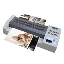 A4/A3 Photo Laminator Fully Automatic Digital Display LCD Electric Thermoplastic Commercial