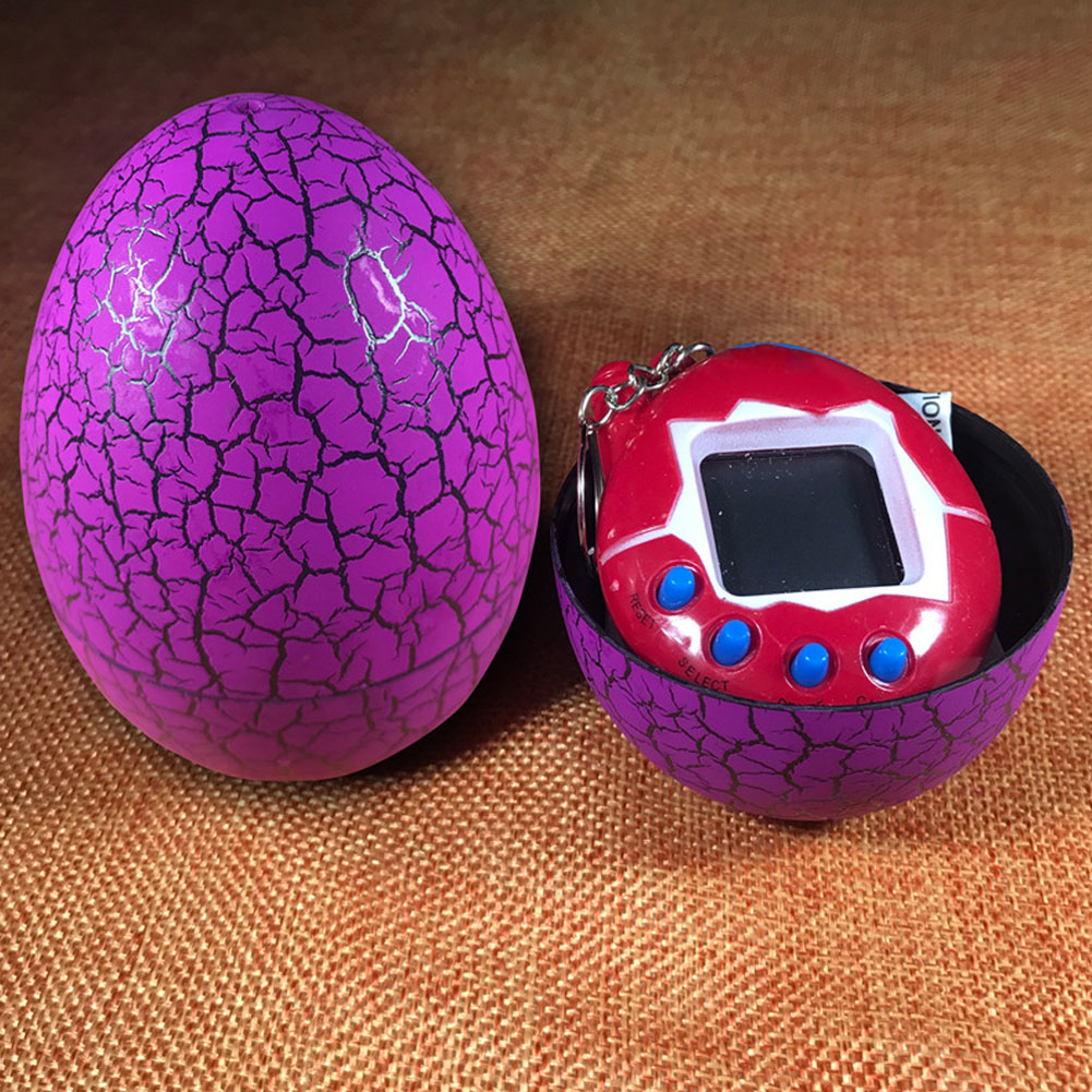 Multi-colors Dinosaur Egg Virtual Cyber Digital Pet Game Toy Tamagotchis Digital Electronic E-Pet Christmas Gift
