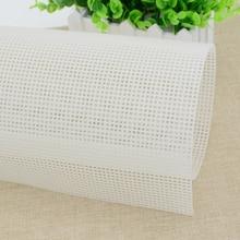 Пластиковая сетчатая тканевая сумка для коврика с крючками, товары для рукоделия, прочная сетка для рукоделия, крючок с защелкой, аксессуар около 33*50 см