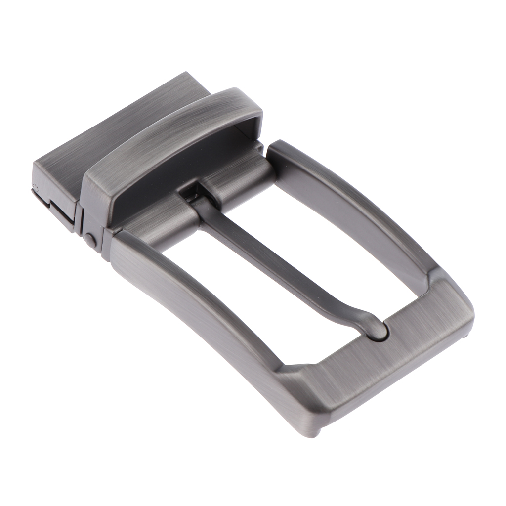 Reversible Single Prong Alloy Belt Buckle Replacement Casual Business