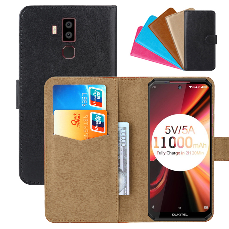 Luxury Wallet <font><b>Case</b></font> For <font><b>Oukitel</b></font> <font><b>K13</b></font> <font><b>Pro</b></font> PU Leather Retro Flip Cover Magnetic Fashion <font><b>Cases</b></font> Strap image