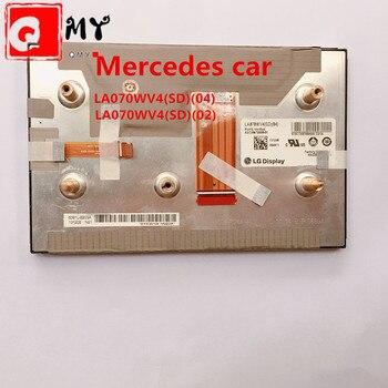 New LA070WV4-SD01 LA070WV4(SD)(04) LA070WV4-SD03 LA070WV4-SD04 LCD module 7inch display for Mercedes car navigation LCD 5PCS/LOT