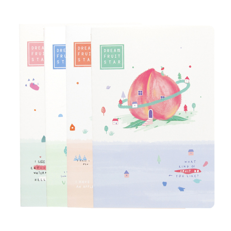 2020 Planner Organizer A5 kawaii Notebook Notepad Book Line Simple Soft side Journal book Style School Student Stationery Supply