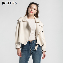 Coat Jacket Sheepskin Women's S7547 Lady New-Fashion 9-Colors