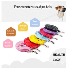 DogLemi dog collar Pet supplies cat bell Teddy small big traction rope
