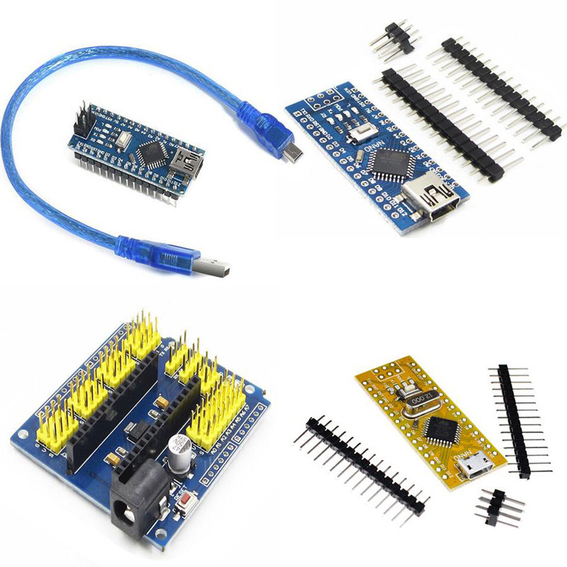 Nano V3.0 ATmega168 / 328P CH340G / FT232 3.3 / 5V 16M microcontroller for Arduino ATF with DIY kit compatible with bootloader