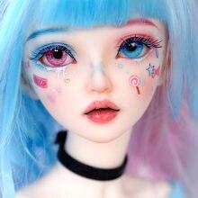 Bjd人形miyn 1/4マカロンマジックアイスクリームガール球体関節人形アートコレクションおもちゃmsdサイズかわいいベビーキャンディーメイクアップ妖精人形